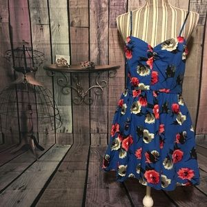 NWT Forever 21 contemporary tile patterned dress